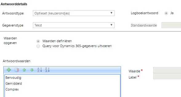 OptionSet in Dynamics 365 Dialogs